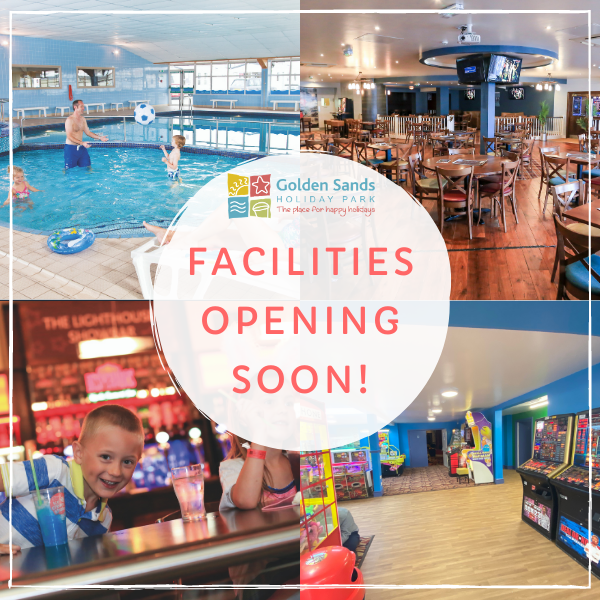 Facilites opening at Golden Sands Holiday Park