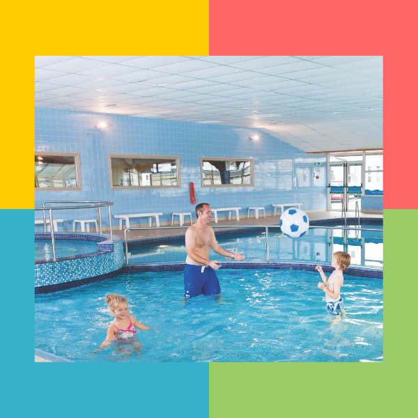 Swimming pool at Golden Sands Holiday Park