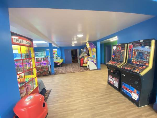 New for 2020 – refurbished arcade & soft play area!